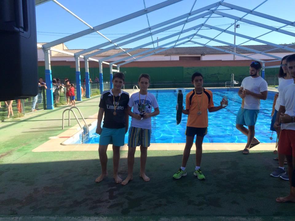 Competición de natación San Agustín
