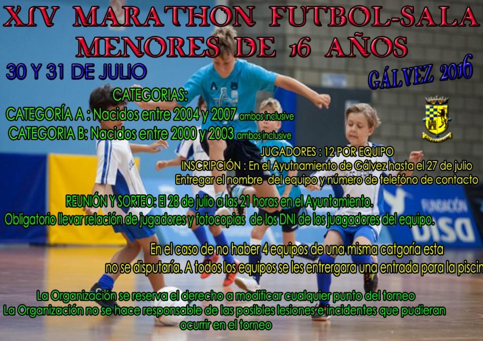 XIV Maratón Fútbol-Sala