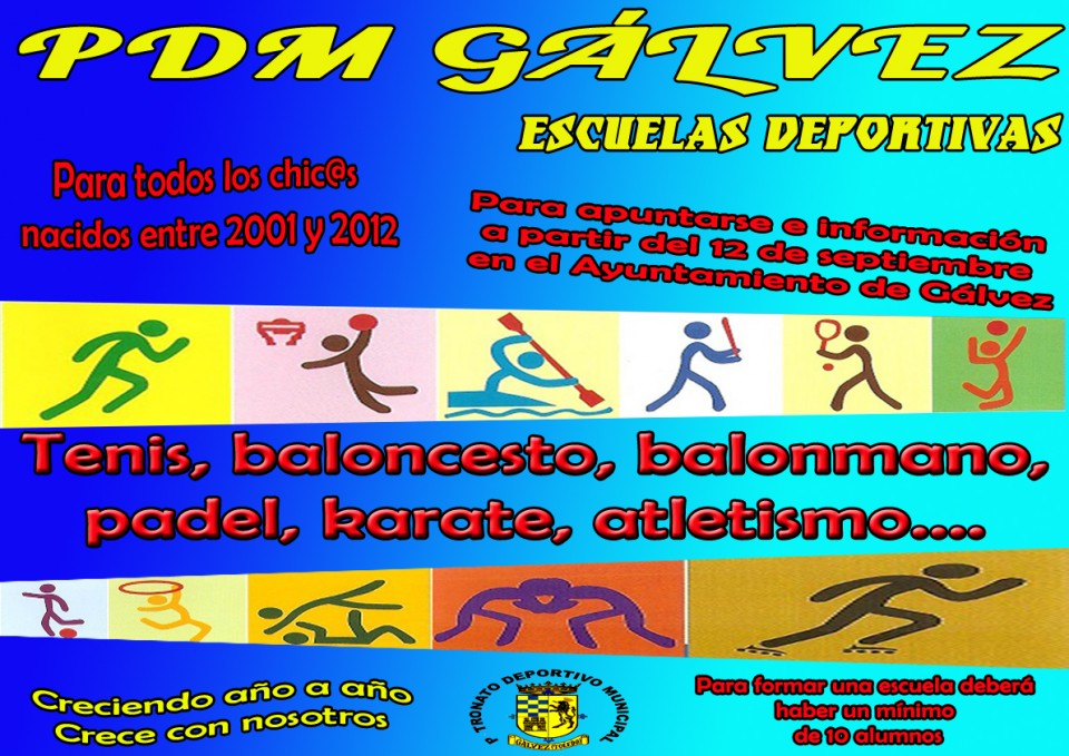 PDM Gávlez  Escuelas deportivas