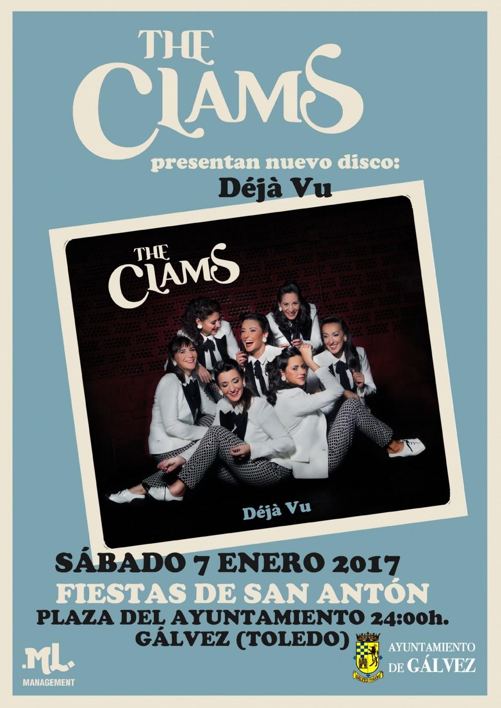 The Clams presenta nuevo disco Dèjá Vu