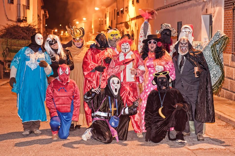 Gálvez acoge un año más su única y diferenciadora fiesta de San Antón