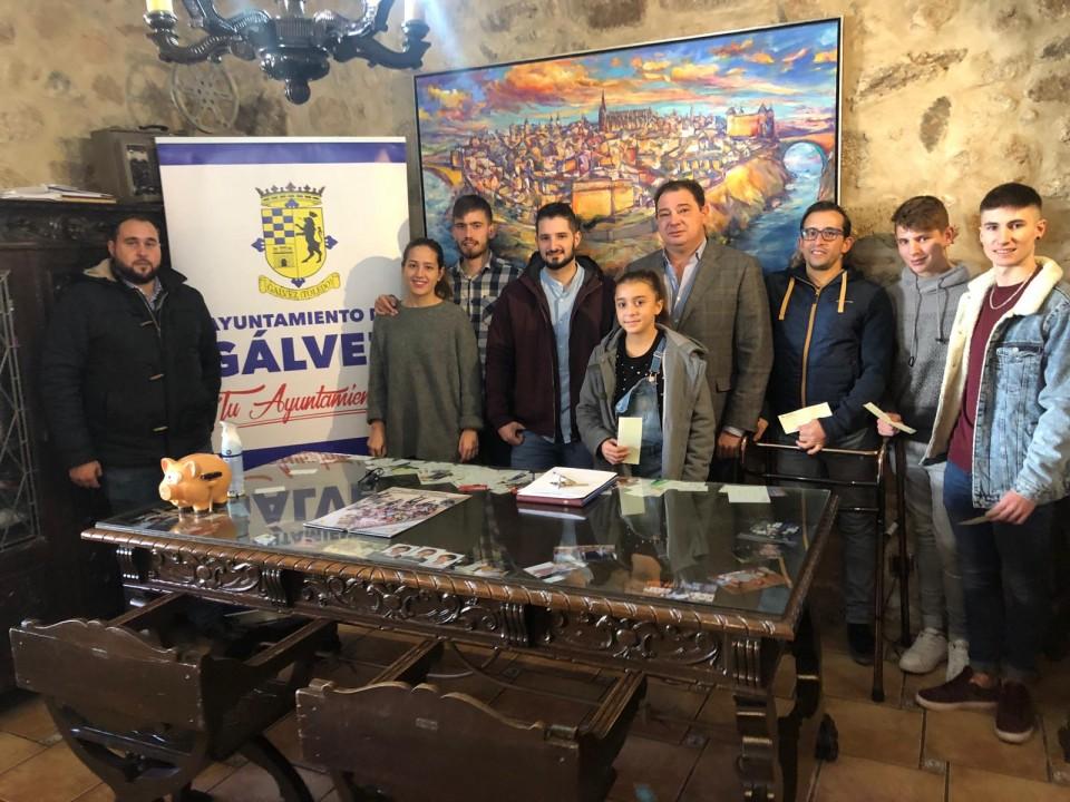 El Ayuntamiento de Gálvez entrega sus pionera becas a deportistas de élite
