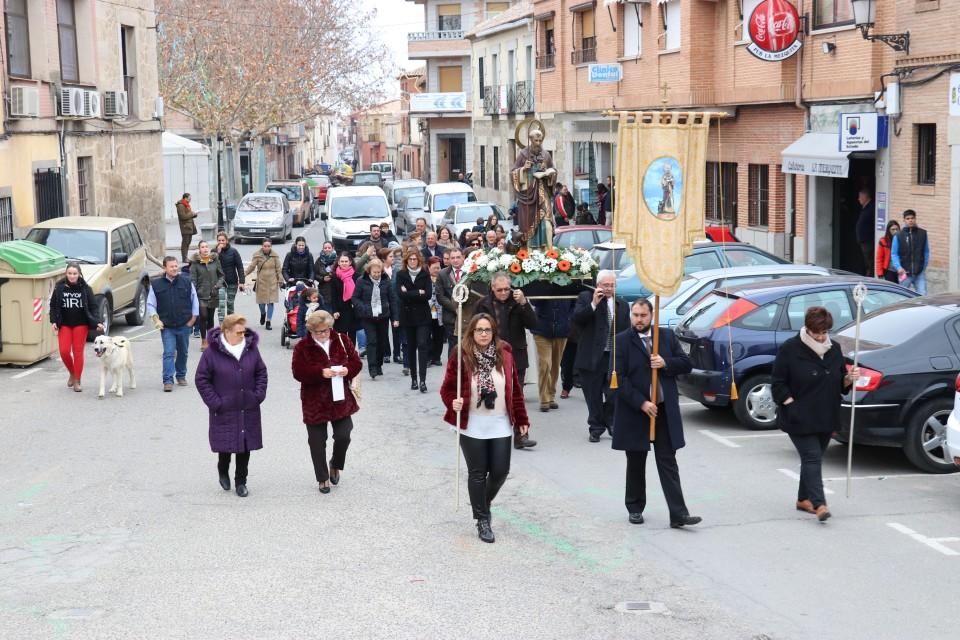 San Antón en Gálvez, una tradición centenaria