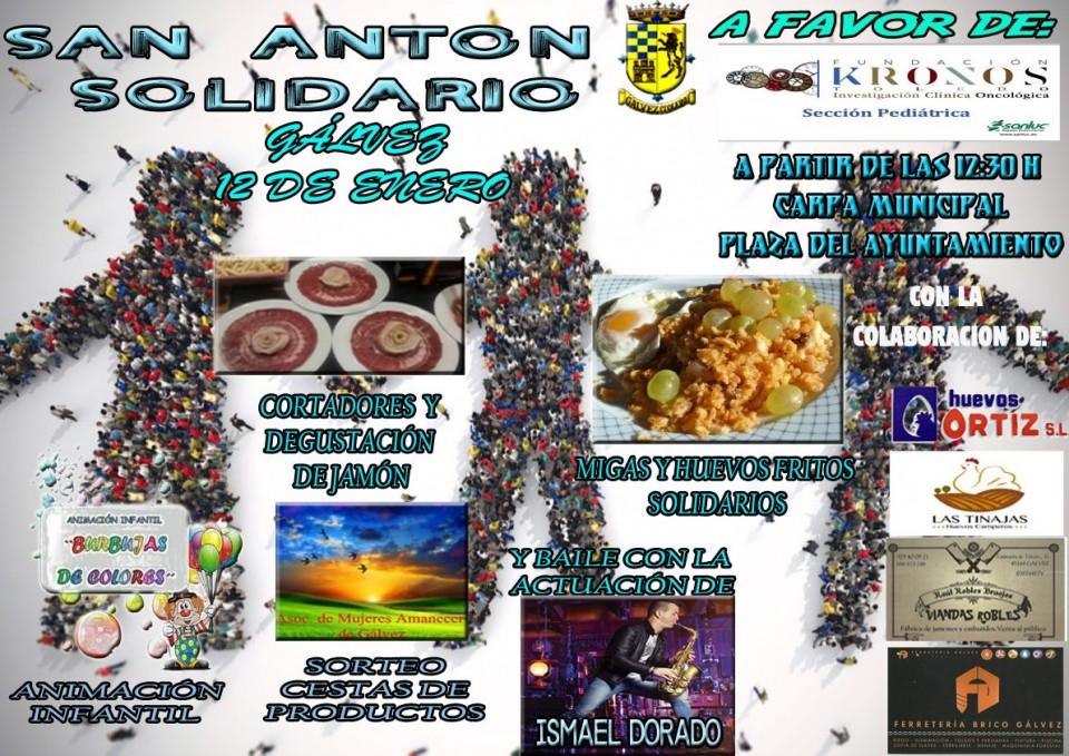 Gálvez se prepara para su tradicional Fiesta de San Antón con actividades solidarias previas